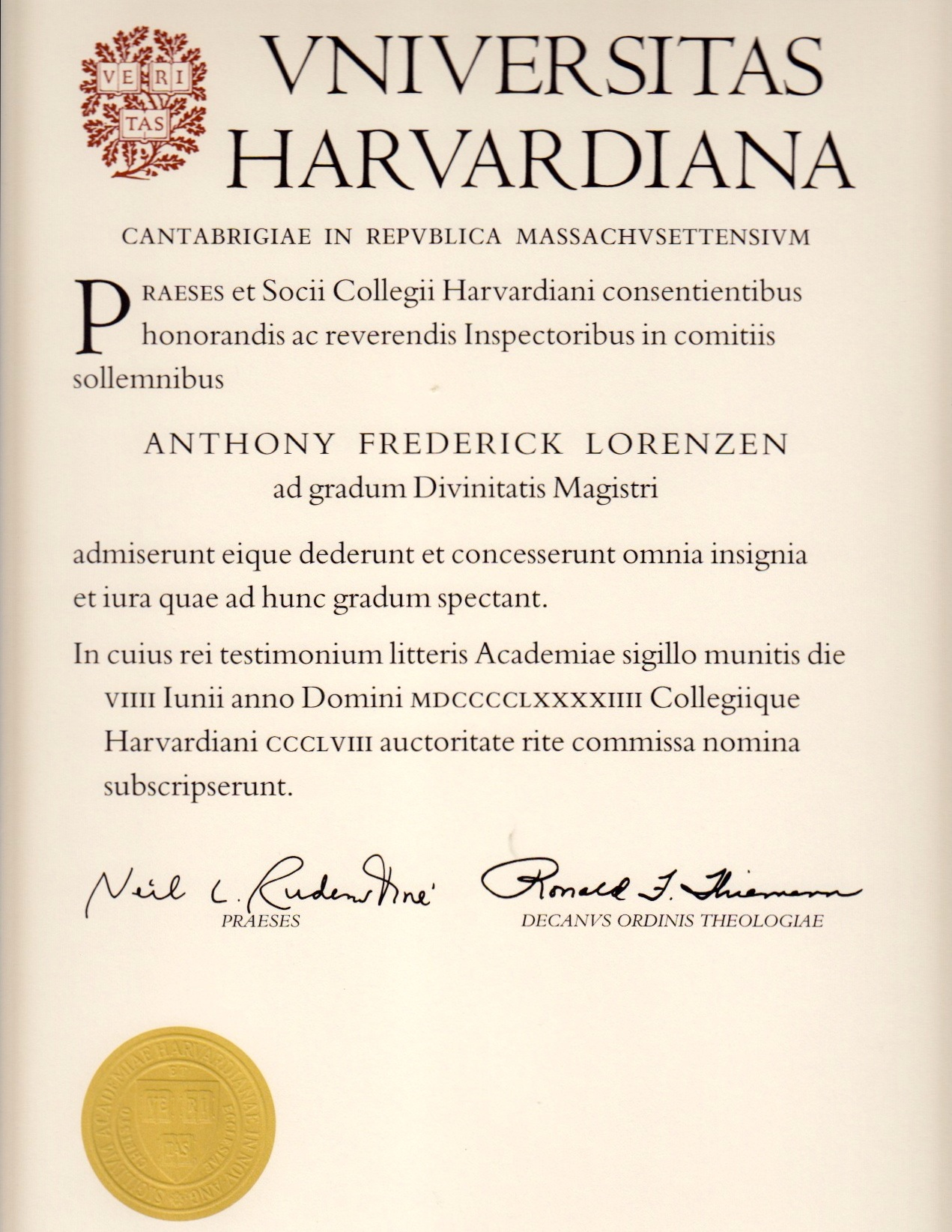 Harvard extension school degree resume